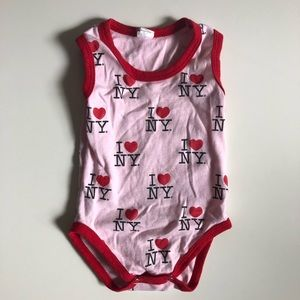 Other - I ❤️ NY Tank Onesie   6-9 Months